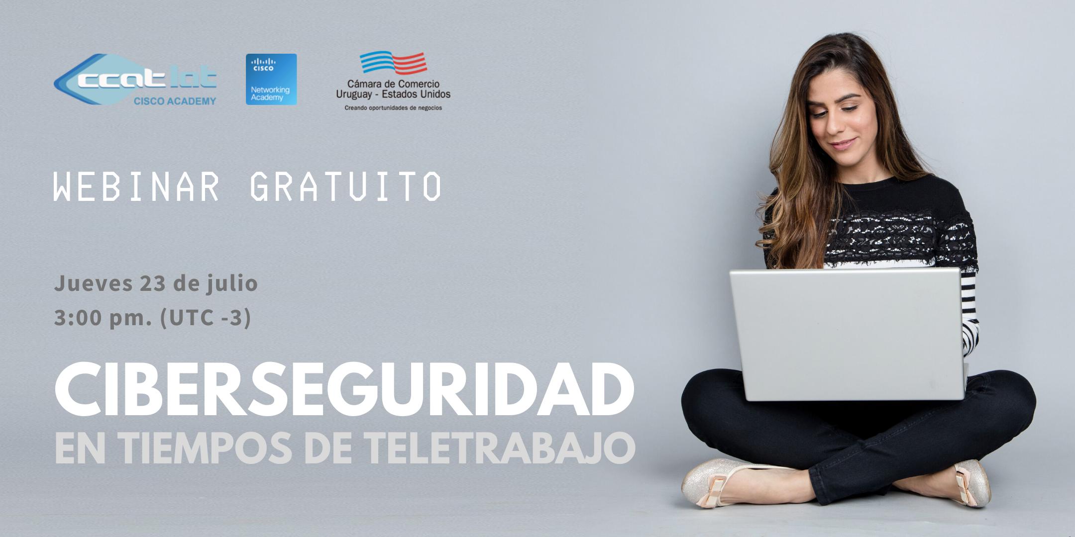 Webinar Ciberseguridad en tiempos de teletrabajo